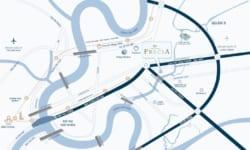 vị trí dự án căn hộ quận 2 Precia